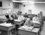 Engineering Drawing class in the high school building