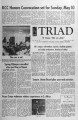 The Triad; May 8, 1970; Volume 14, No. 16