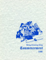 1986 Commencement Program