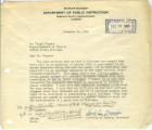 Letter to Virgil Rogers from Earl Mosier