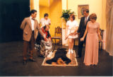 Partial cast of The Real Inspector Hound