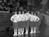1960s cheerleaders at KCC