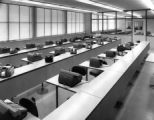 Inside the Lane Thomas building in the 1960s